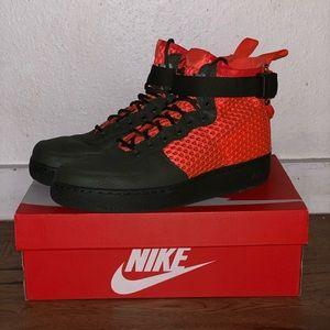 "Nike Air Force One — ""Solar Orange/Olive"""
